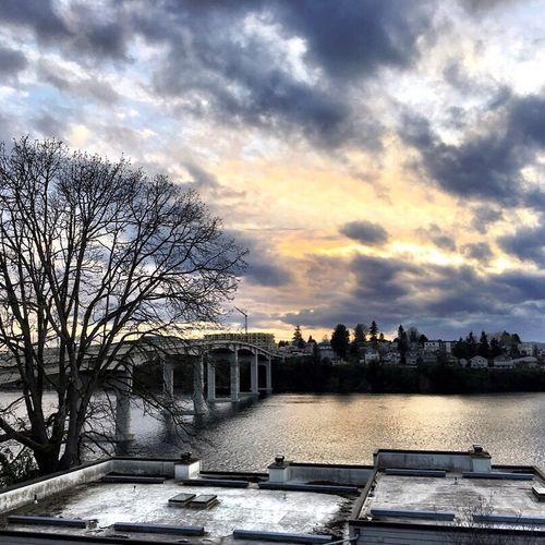 Manette, Bremerton Manette Bremerton Kitsap County Washington State PNW Bonesofbremerton Bridges Moon Sunset Cobalt Sky Sunset_collection PNWonderland Kitsap Peninsula Pugetpeninsula (null)Kitsapand