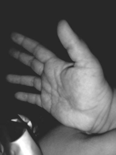 Baby isha's little hand