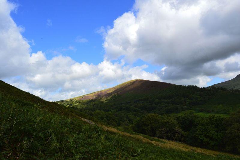 Landscape shot from Black Mountain Blackmountain Wales Swansea