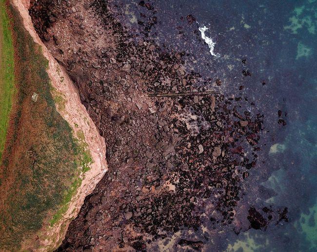 Coast and sea Coastal Path Wave Cut Platform Seascape Coastline Drone Shots Drone Photography No People Nature Day Land Full Frame Outdoors Close-up