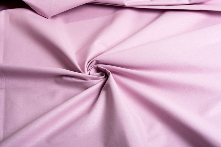 Directly above shot of pink fabric