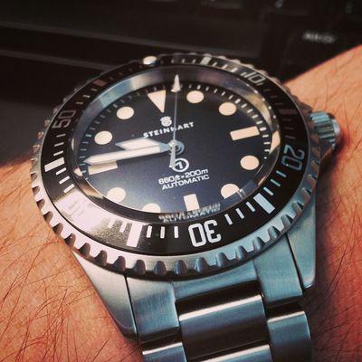 Steinhart Oceanvintagemilitary Ovm Watch Watches Instawatches WUS Wis Watchuseek Instawatch Watchoftheday