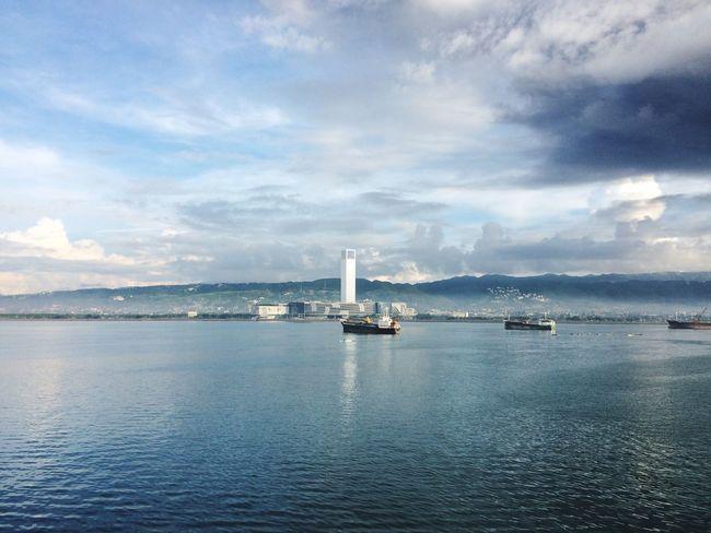 Queen City Of The South EyeEm Selects Eyeem Philippines SMSeasideCityCebu Cebushoreline When In Cebu Eyeem Cebu Beauty In Nature Cebu City, Philippines Vast Ocean Sailing Ship Placidsea 2017 Eyeem Awards Been There.