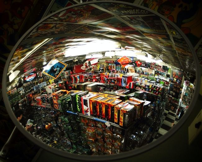 Toy Store Random Reflections What Do You See In The Mirror? Eye4reflections