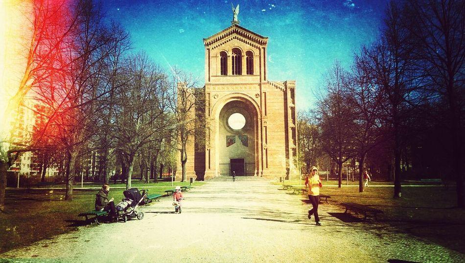 Church Architecture Sun