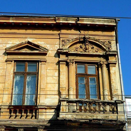 Architecture Details Window Eclectic Bucharest Romania Architectural Detail Oldhouse