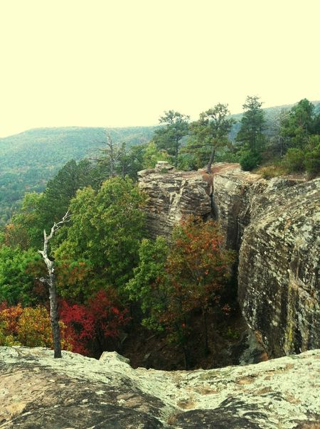 Fall bluffs in the ozarks First Eyeem Photo Ozarks RockClimbing Nature Cliffs