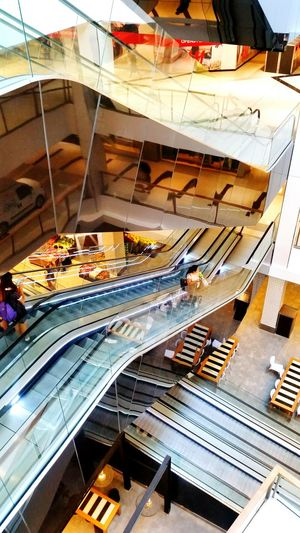Fresh 3 Brand New Shopping Centre Escalators Reflections Geometric Architecture Design Interior Architecture People Chatswood High Up Looking Down Shops Shopping Mall Shopping