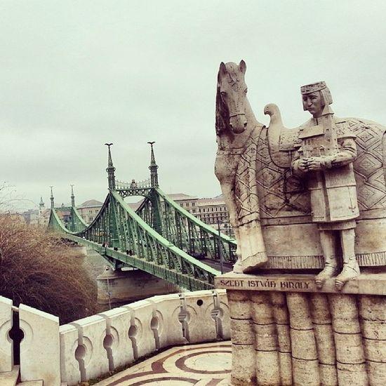 Budapest RandomMonument Szabadság Hungary Bridge