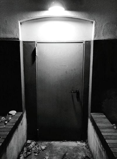 Day 127 - What's the password? Berlin Blackandwhite Door 365project 365florianmski Day127
