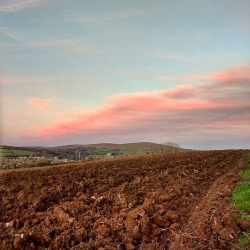 Freshly ploughed Landscape_Collection Dartmoor Devon Landscape_photography