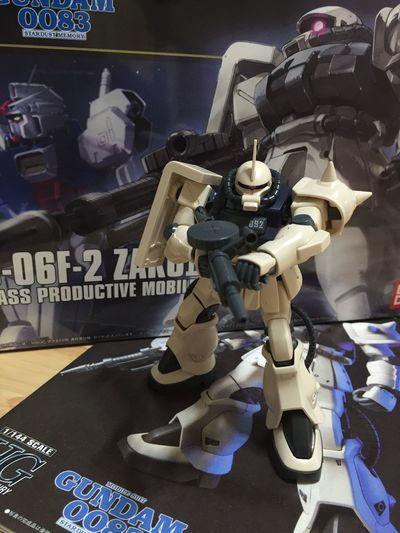 Gunpla Zaku Gundam BANDAI ZakuII