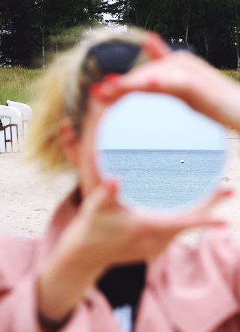 From my point of view. Close-up Millennial Pink Sea Beach Nature Enjoying Life Minimalism Outdoors Eye4photography  Beauty In Nature From My Point Of View EyeEm Best Shots EyeEm Gallery The EyeEm Facebook Cover Challenge Portrait Colors Portrait Of A Woman Color Portrait Beauty TCPM