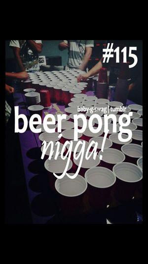 Beer Pong. (: