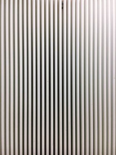 Heat Heating Heating System Energy Pattern Backgrounds Striped Metal Full Frame Architecture Close-up Textured  No People Corrugated Iron Iron - Metal Built Structure Indoors  Brushed Metal LINE Day White White Color Winter Wintertime