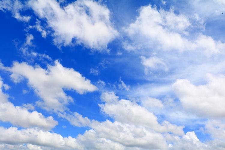 blue sky vivid