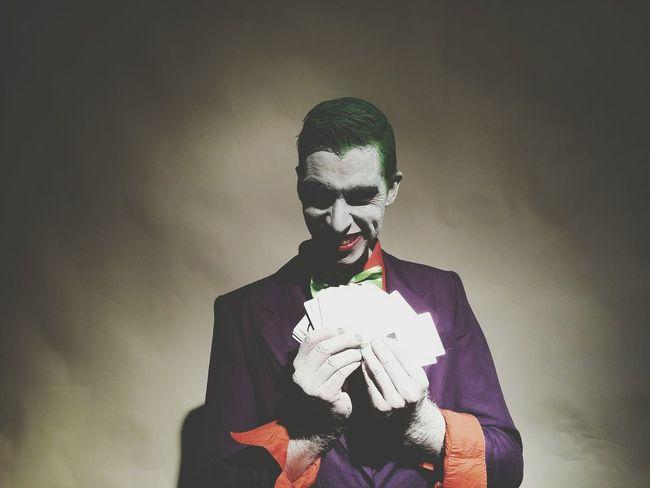 Filming session 13 Joker Batman Short Film Film