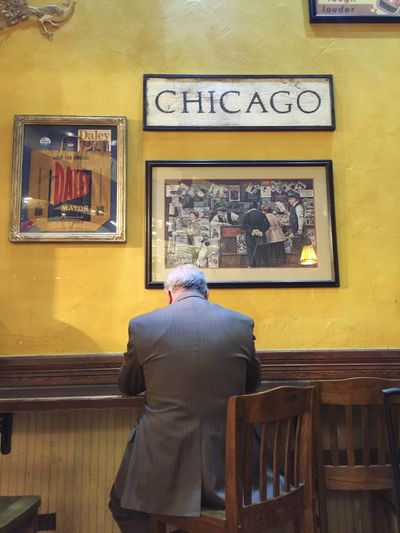 Dreams speaks louder than the preparation to face the truth Taking Photos Chicago Man Businessman Building Coffeeshops  Intelligentsia Chicago Coffee Break Desire Ambition