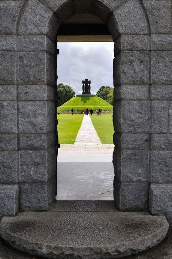 Entrance of the German military Cimetery of La Cambe (Normandy) where 21222 dead German soldiers are buried. Nikon d700 - iso 200 - F/5.6 - 1/320s - 50mm. The Purist (no Edit, No Filter) Eye4photography  History Taking Photos