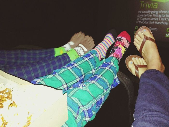 movies in our PJ's