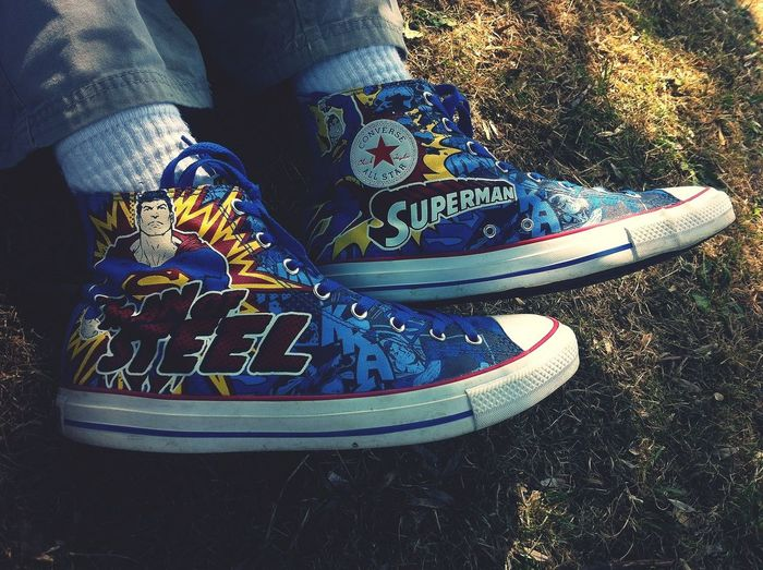 Marvel Comics Man Of Steel Other People's Shoes At School