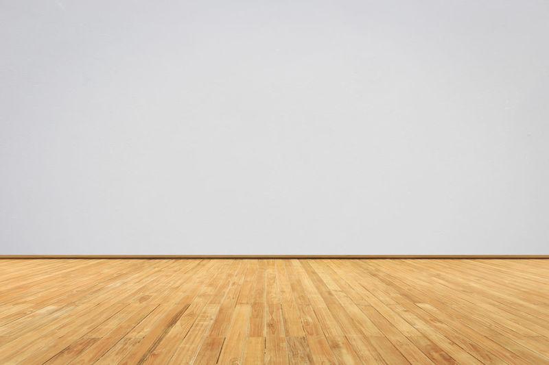 Empty room with