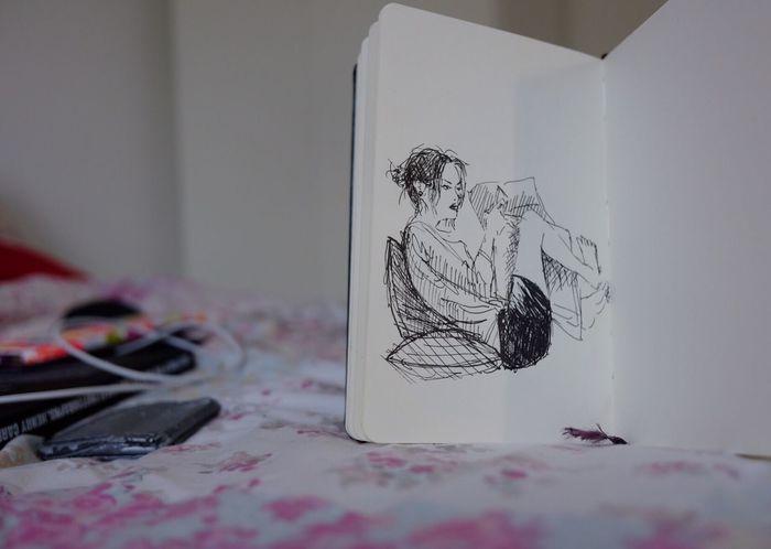 Sketchy Art Sketch Me Unipin