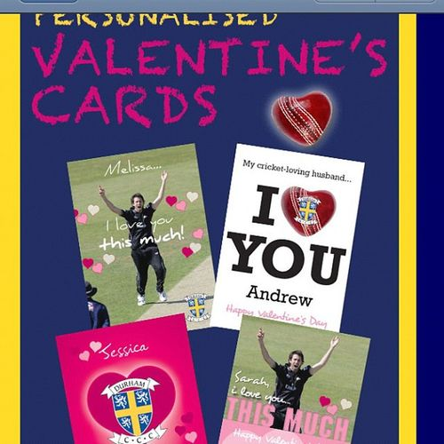 Thanks Durhamccc but I don't think Ange would appreciate one these for Valentines thanks for the thought though