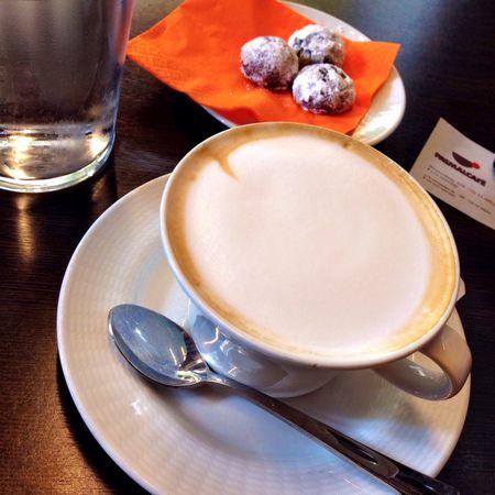 Cappuccino & Cookies. Delicious... #ThisIsAthens #TBEX #TBEXathens