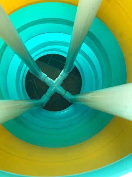 EyeEmNewHere Swim Poolside Innertube Day No People Yellow Indoors  Close-up Water Slide EyeEmNewHere