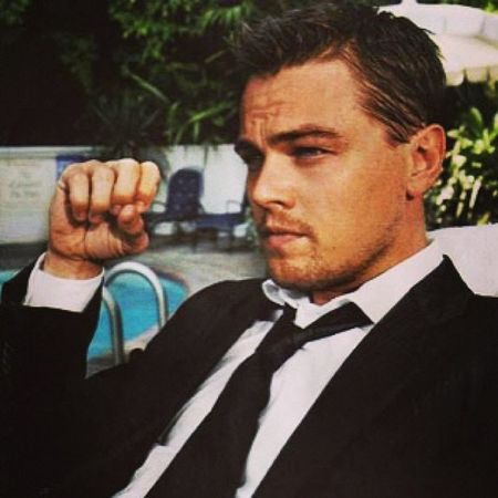 I just think he's so cute. Leonardodicaprio