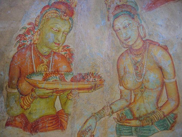 From the archive: Sigiriya Frescoes Ancient Civilization Art And Craft Close-up Craft Fresco Fresco Decorations Fresco Paintings Fresco Wall Frescoes History Human Representation Religion The Past
