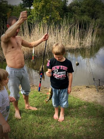 Adventure Club Proud boy with fish. 🎣😍 Tadaa Community