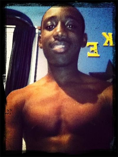 Just out the shower, jus chillin!!!