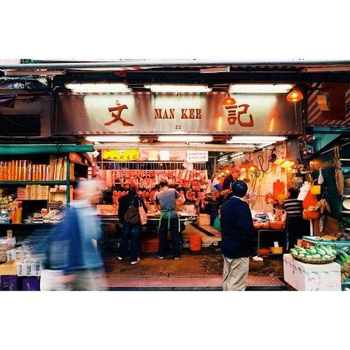Butcher's window, Sheung Wan, Hong Kong. Travel Travelphotography Vscocam Ricohgr latergram hongkong