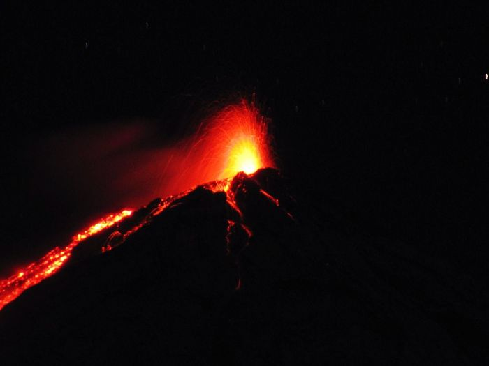 Fuego Volcano ongoing eruption... What a spectacular experience... Burning Flame Fire - Natural Phenomenon Heat - Temperature Glowing Night Red Bonfire Close-up Campfire Vibrant Color Firewood Dark Outdoors Spark Majestic A Bird's Eye View Volcan De Fuego Guatemala Eyeemphoto Non-urban Scene Volcanologist Volcano Hike Ongoing Eruption Nature