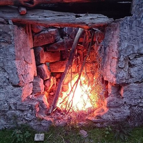 My lasses first attempt at lighting the fire 😀 Firewood Northumberland National Park Northumberland Camping Wild Camping Harbottle Crag Cheviots Cheviothills Tumbledown Farmstead The Purist (no Edit, No Filter)