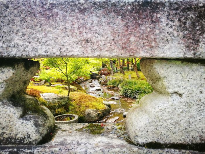 Nature Water Rocks Secret Spot Japan Landscape Nature