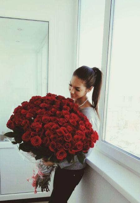 Red Roses Flowers Redroses