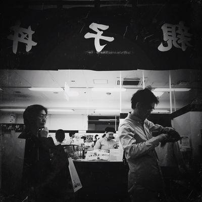 Oyako-don Streetphotography Blackandwhite