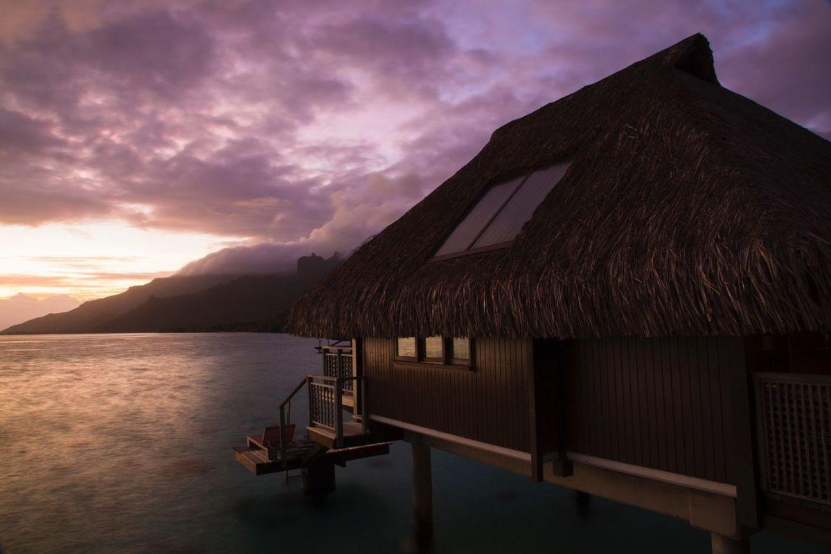 Sunrise Moorea Tahiti