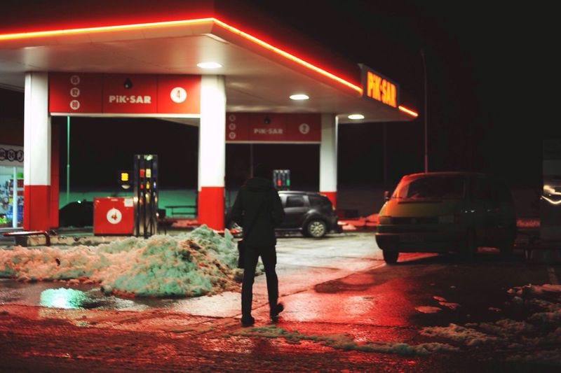 Gasolinestation Gasoline Night Tour Photography On Tour Jesus Pain Tour'16 Snap Moment From Movie Walk Alone
