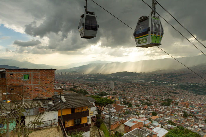 The metro cables over the city of Medellin Colombia, taken from the Santo Domingo barrio (neighborhood). Barrio City Life City Street Cityscape Cityscapes Colombia Destination Houses Medellin City Medellín Metro MetroCable Neighborhood Neighbourhood No People Outdoor Photography Public Transportation South America Street Photography The Architect - 2016 EyeEm Awards Transportation Travel Photography The Street Photographer - 2017 EyeEm Awards Neighborhood Map