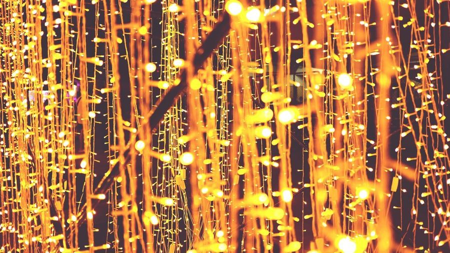 Full Frame Backgrounds Illuminated No People Pattern Night Celebration Close-up Indoors