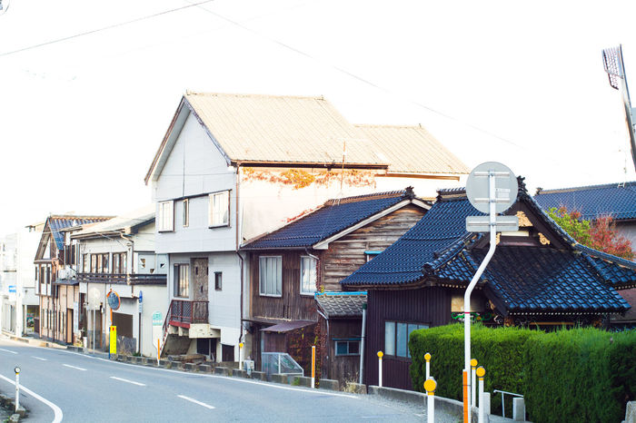 Japanese style housing in Tokyo Architecture Building Exterior Built Structure City Life Day Exterior Façade House Japan Japanese  Japanese Culture Japanese Style Narrow No People Old Outdoors Residential Building Residential District Residential Structure Roof Slope Town Urban Window