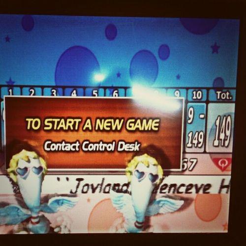 my new bowling score