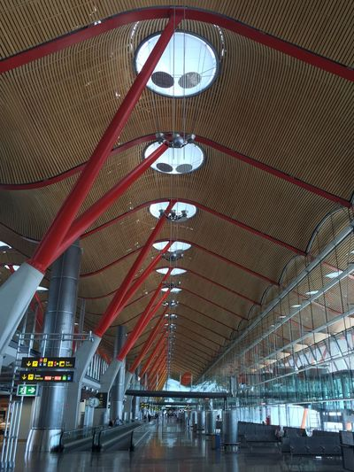 On the road again... Barajas T4 Airport Architecture Rogers