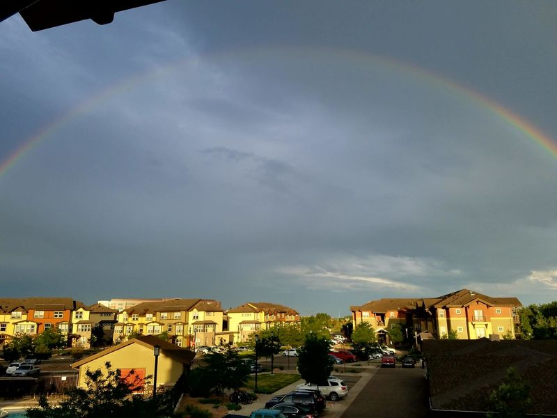 The Essence Of Summer Nature Amazing View Loveland Colorado Awesome Northern Colorado Skies Rainbow Sunset