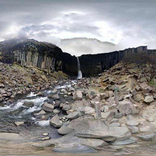 360° Waterfall 360 Svartifoss