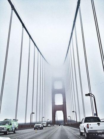 Fog Bridge On The Road Again